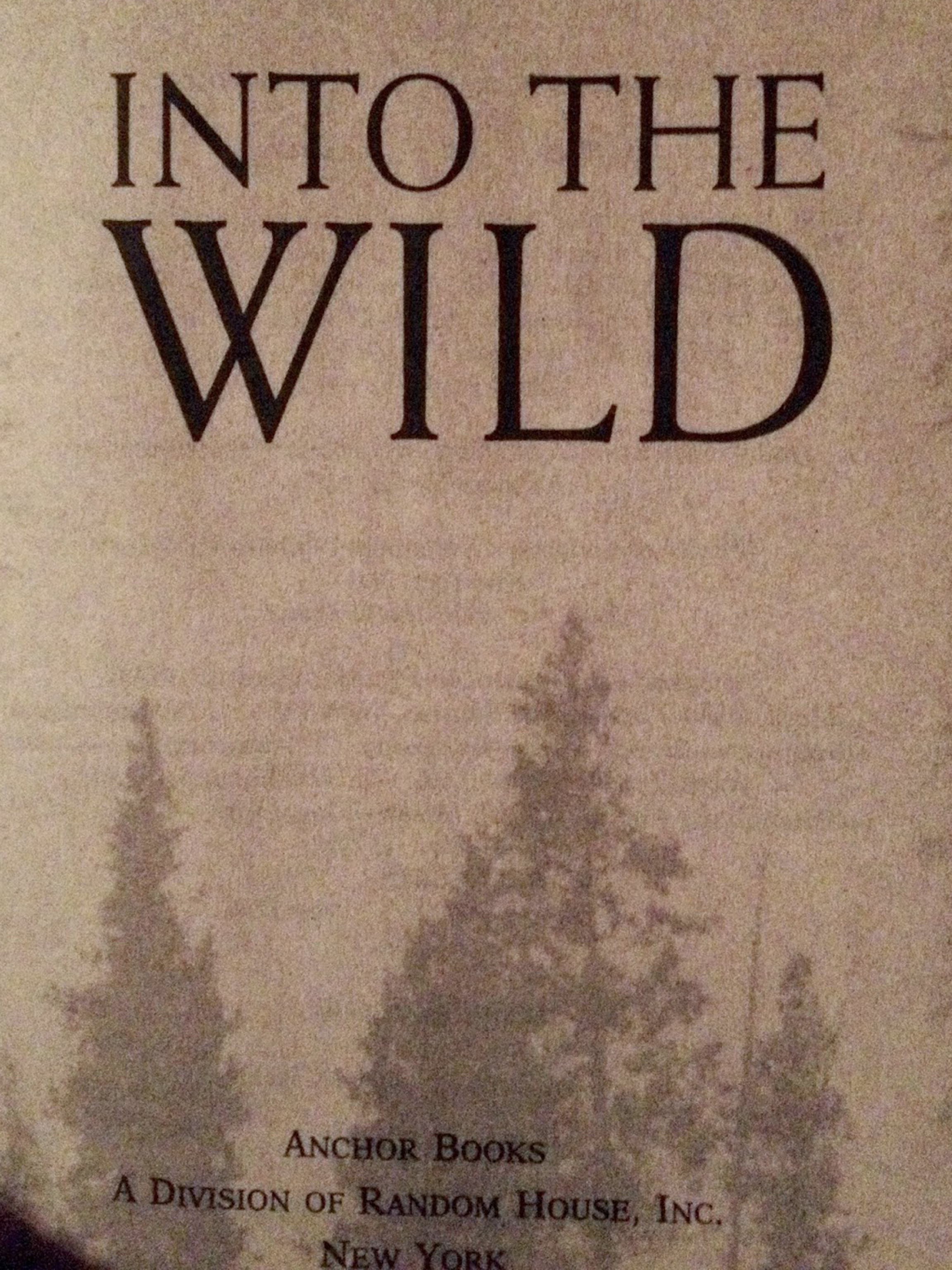 the authors similarly reckless adventures in into the wild a novel by jon krakauer Reddit: the front page of for about 120 days, and then died jon krakauer chris's life and death in the book into the wild krakauer pointed out the flaws.