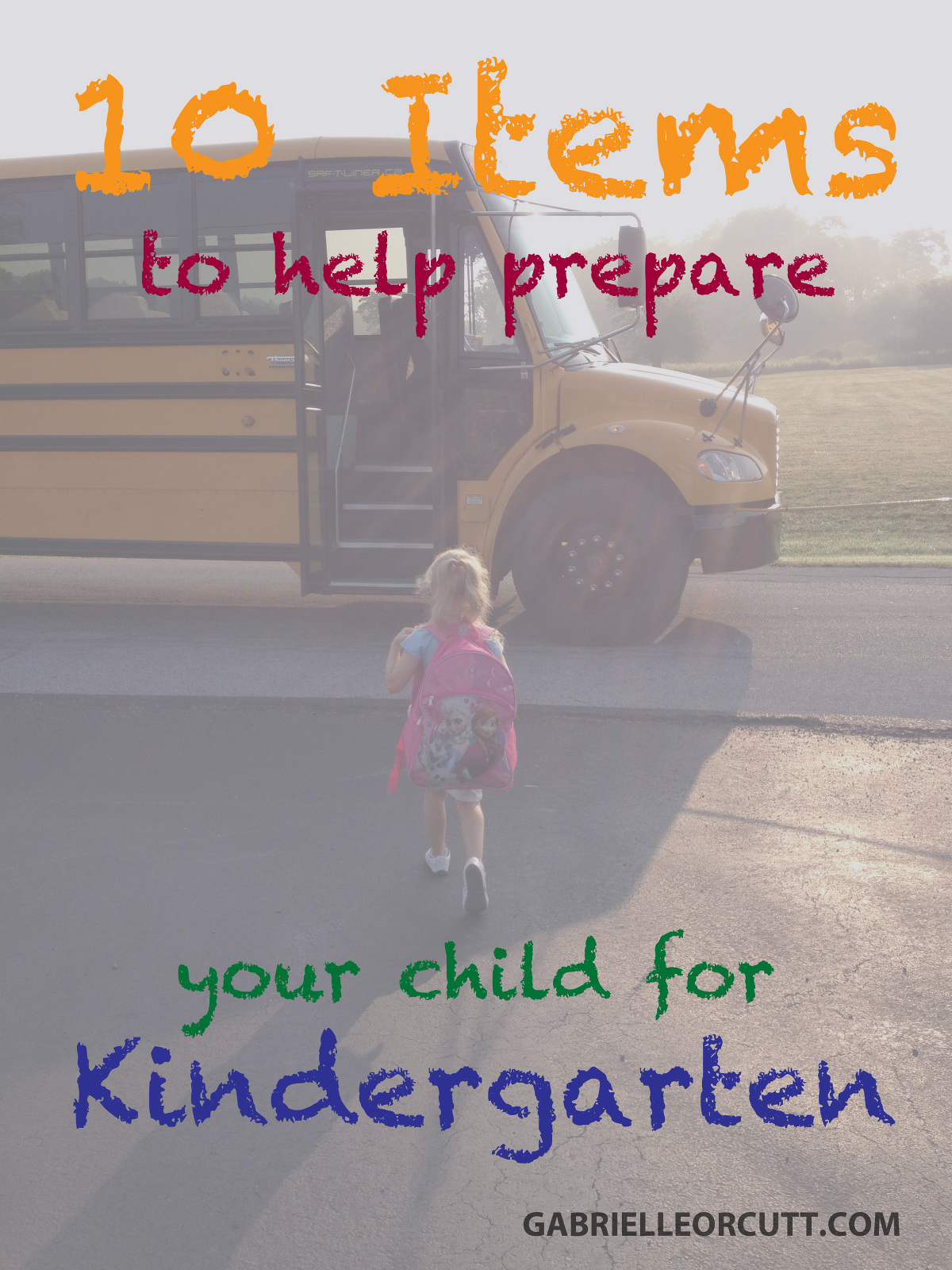 10 items to help prepare your child for kindergarten ...